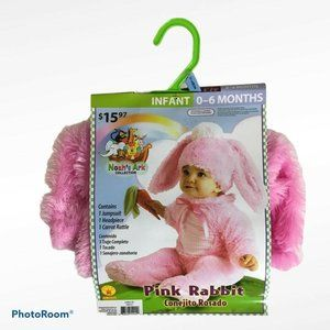 Pink Rabbit Bunny Costume Infant Baby Easter 0-6 m
